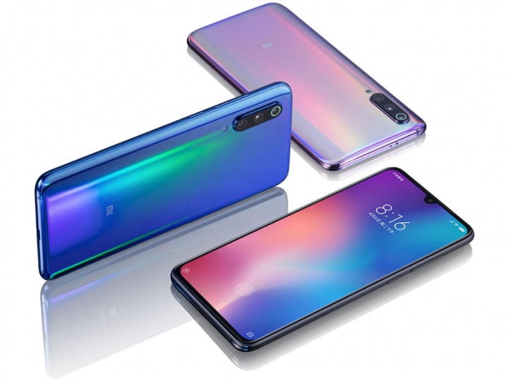 Xiaomi Mi 9 smartphone Apple