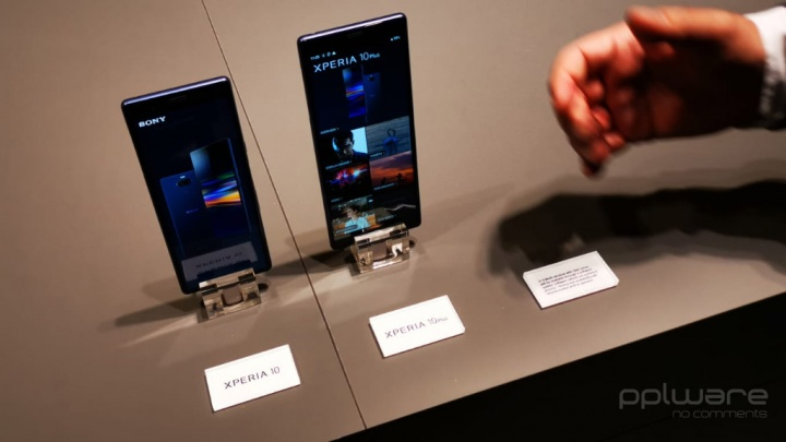 Sony Xperia 1 Sony Xperia 10 Sony Xperia L3 teléfonos inteligentes Android MWC19
