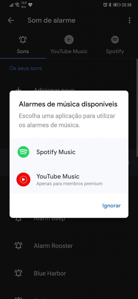 YouTube Music Google reloj Android Spotify