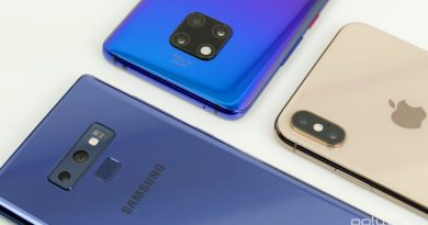 Samsung Apple Huawei smartphones Android