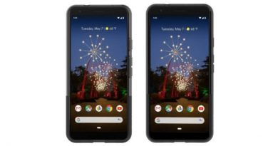 Google Pixel 3a smartphone Android
