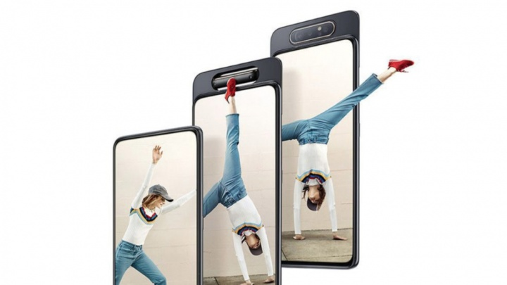 Samsung Galaxy A80 smartphone Android