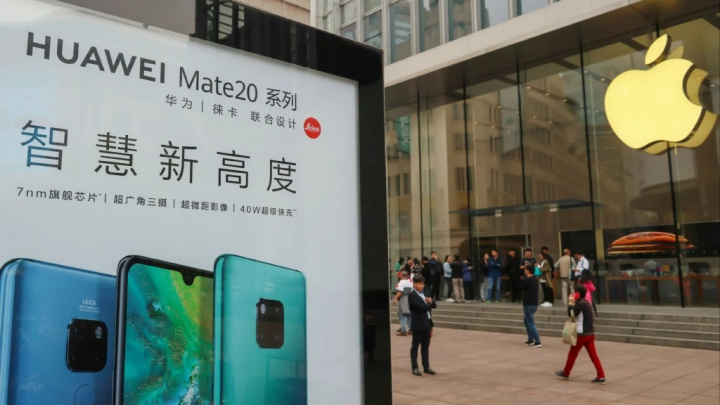 Huawei Apple smartphones Android China