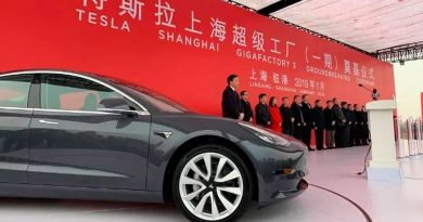 Imagem Tesla Model 3 na China
