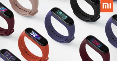 Xiaomi Mi Band 4 smartband Android