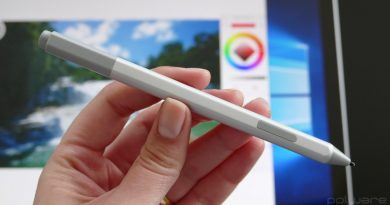 Microsoft Surface Pen ecrã interfaces caneta