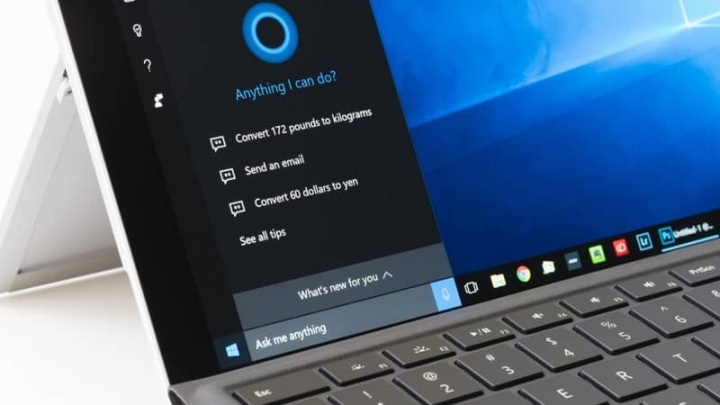 "Cortana Microsoft Windows 10 asistente virtual ""width ="