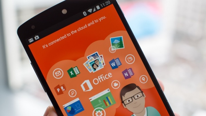 Microsoft Office Android smartphone actualizar