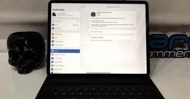 "Imagem iPad Pro 12.9"" com iOS beta 3 para developers"