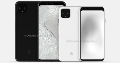 Google Pixel 4 smartphone Android