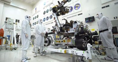 NASA Rover Mars 2020 Marte arm