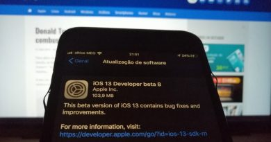 Apple lançou o iOS 13 beta 8 para programadores