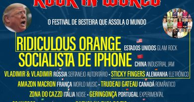 Rock in World lineup, el festival mundial de mierda