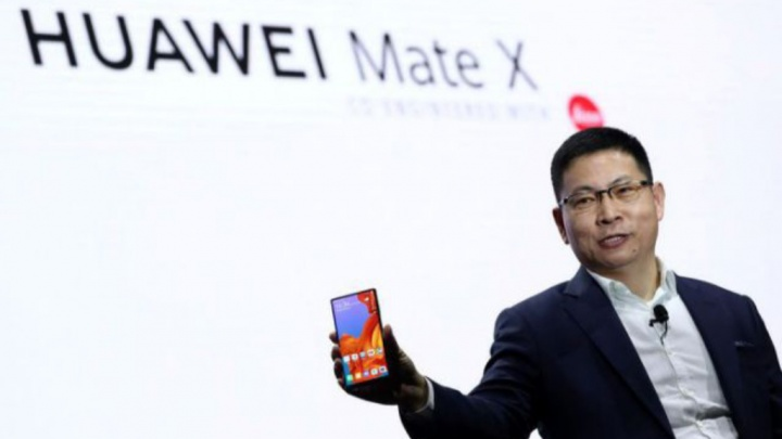 Huawei Mate X Android Google China Smartphones