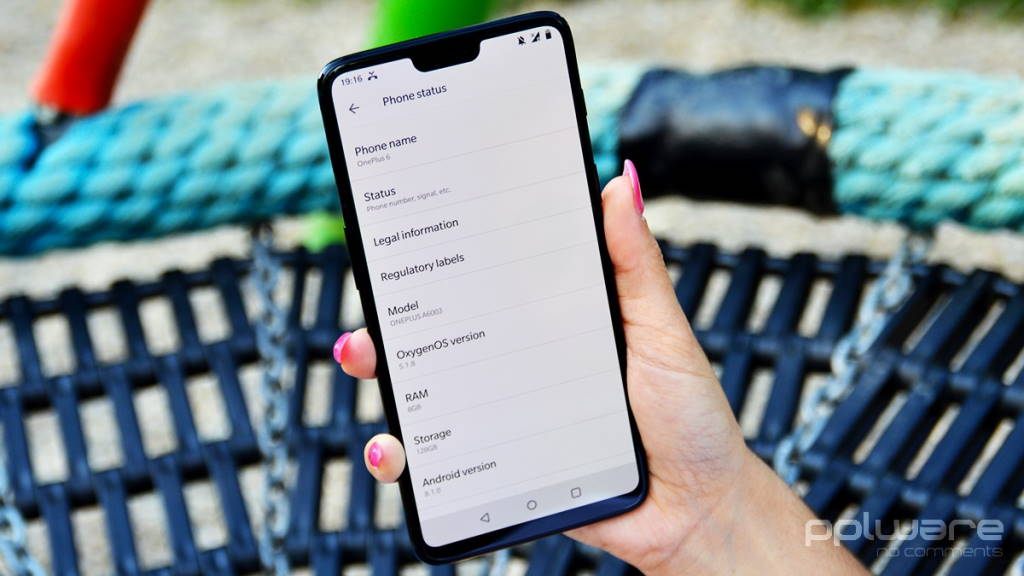 OnePlus 6 OxygenOS Android 10 6T