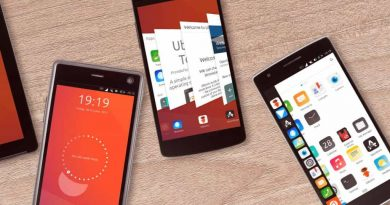 Ubuntu Touch UBports smartphones interface
