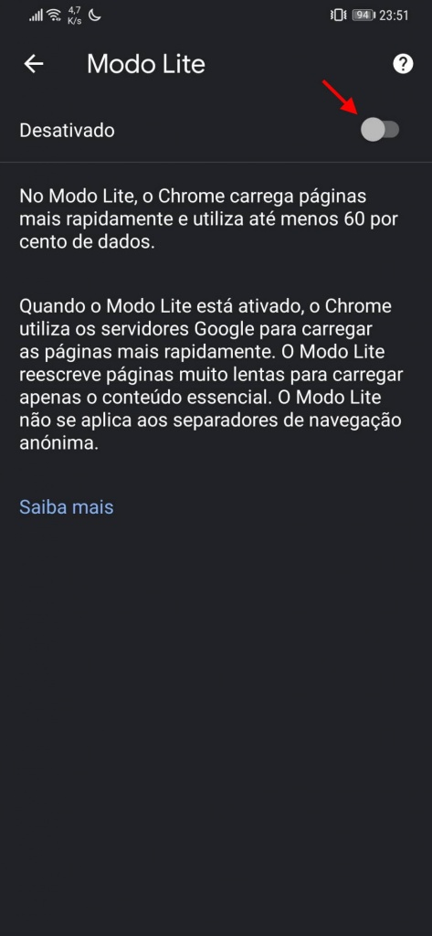 Navegador Chrome Google guardar datos
