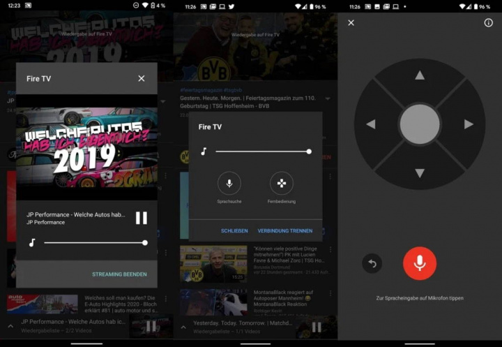 YouTube Chromecast Android Android Command