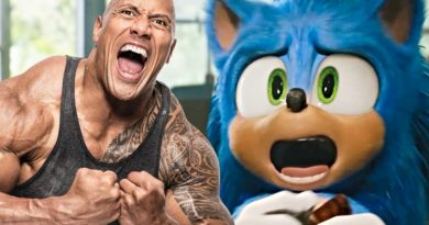 El nuevo spot televisivo de Sonic the Hedgehog le da un grito a The Rock y responde