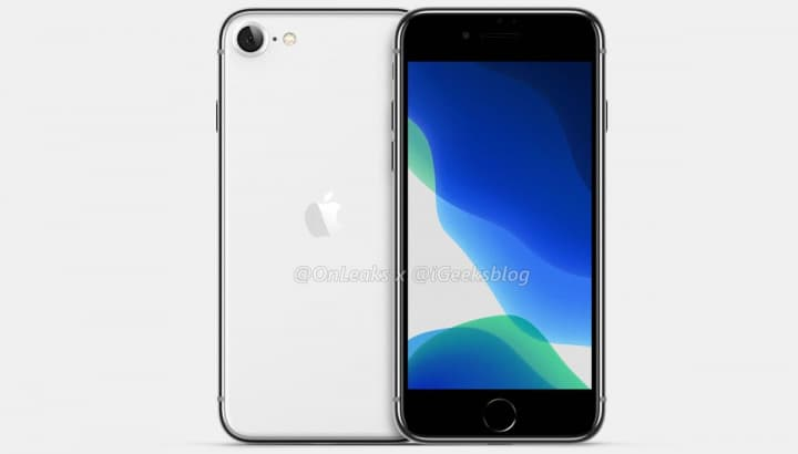 Imagen probable iPhone 9 o Apple iPhone 2 Se