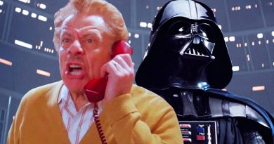 El icono de Seinfeld, Frank Costanza, es un Darth Vader despotricando en un video de Star Wars