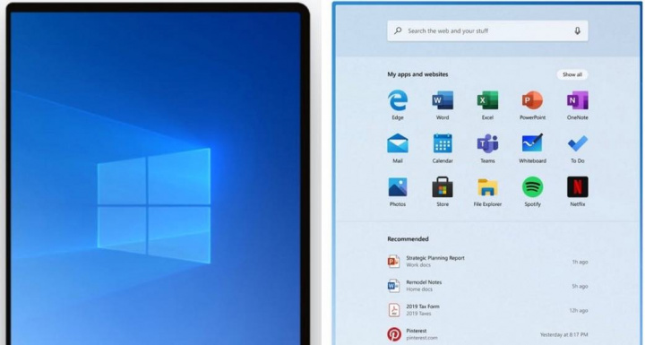 Live Tiles Windows 10 Microsoft Start Menu technology
