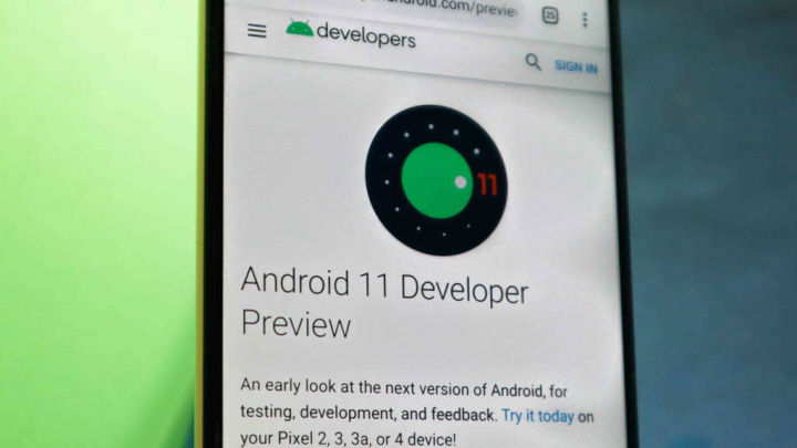 Android 11 Google smartphones táctiles traseros