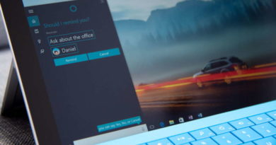 Cortana Microsoft focada assistente virtual tarefas