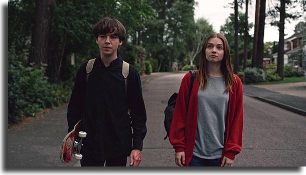 The End of The F *** ing Mejores series mundiales para fines de semana