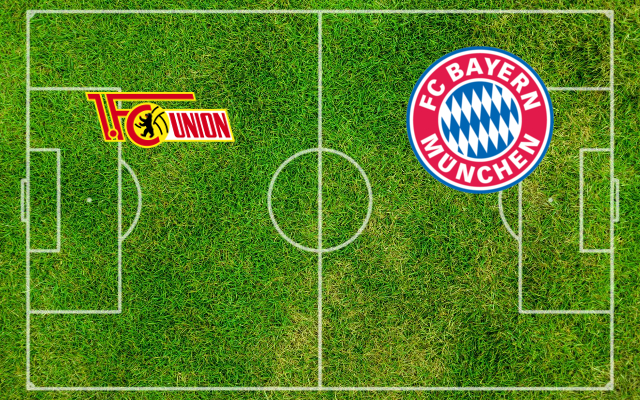 Formaciones Union Berlin-Bayern Munich