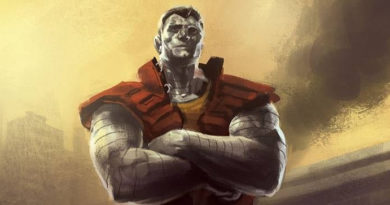Deadpool Concept Art - Alternate Colossus