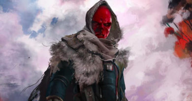 Avengers: Infinity War - Alternate Red Skull Concept Art