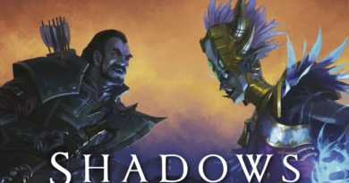 Blizzard and Penguin Reveal Cover para WOW SHADOWS RISING