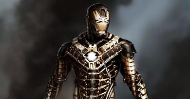 Iron Man Suitcase Armor Concept Art