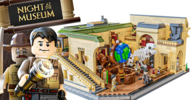 Night at the Museum LEGO Set