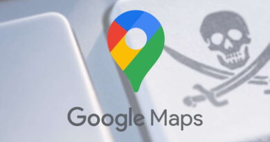 Google Maps software ilegal partilha Google
