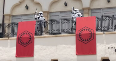 Social Distancig Stormtroopers in Place at Disney World