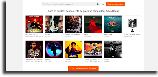 Sitios de SoundCloud para descargar música gratis mp3