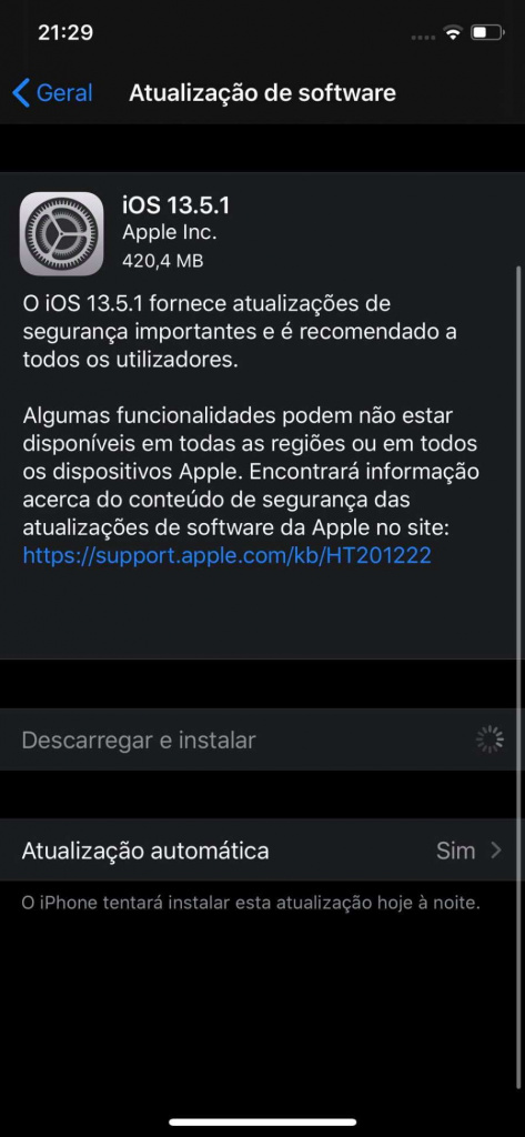 iOS Apple iPhone jailbreak falla