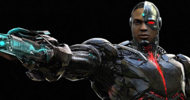 Justice League - Cyborg Concept Art