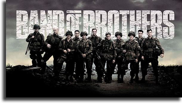 Band of Brothers mejor serie de guerra