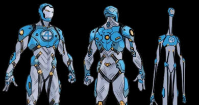 Iron Man Fantastic Four Armor