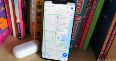 Google Maps rotas smartphone browser