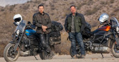 Ewan McGregor se embarca en un viaje por carretera en motocicleta en el tráiler de la serie Apple TV + LONG WAY UP