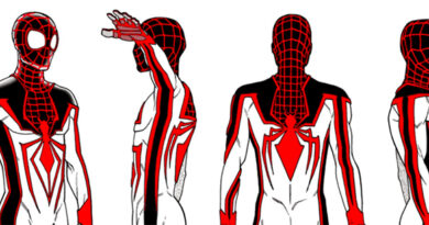Spider-Man: Miles Morales - TRACK Suit Art