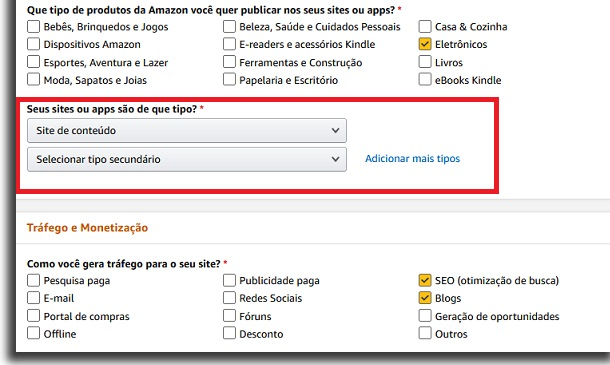 monetización en amazon