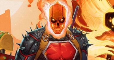 Deadpool as Ghost Rider