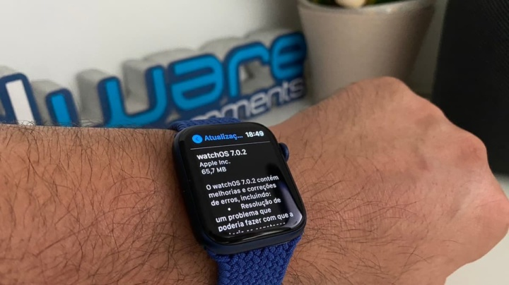 Imagen de WatchOS 7.0.2 en Apple Watch 6