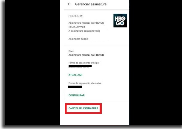 hbo ir a android