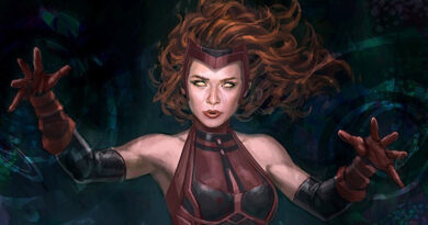 Scarlet Witch - Andy Park Concept Art
